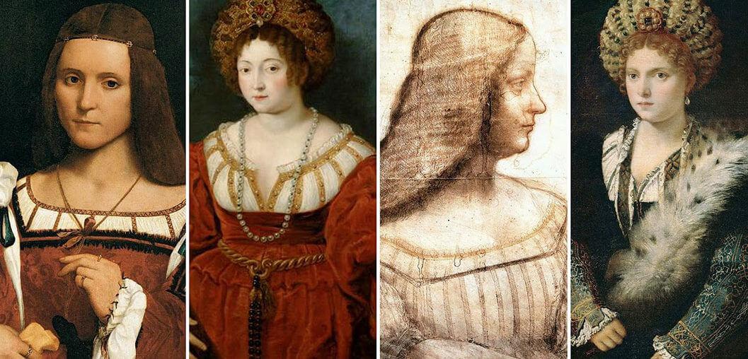 Isabella d'Este - Arte ed eleganza