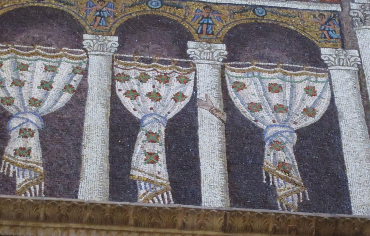 Basilica di Sant'Apollinare Nuovo - Dettaglio mosaici